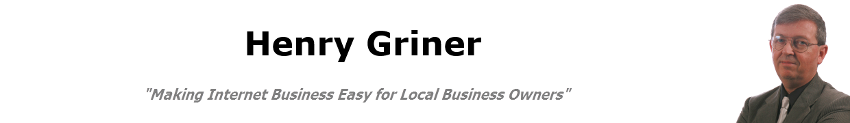 Henry Griner, Helping Local Business Owners